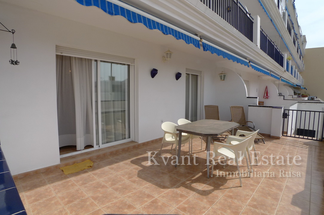 Квартира у моря на юге Испании