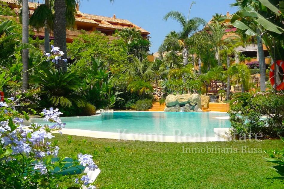Квартира класса люкс с видом на тропический сад